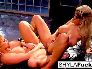 Shyla and Bridgette are a flawless match