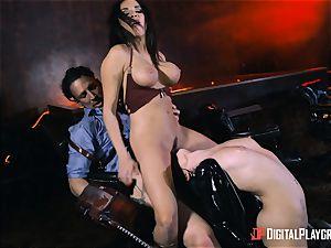 Rina Ellis and Anissa Kate pussy boning parody