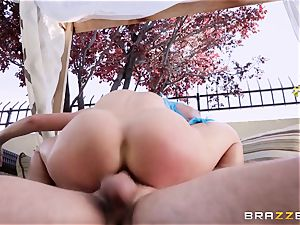 cosplay fuck-stick enjoying cougar Cherie Deville pounded stiff in the booty