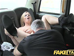 fake taxi massive inborn titties on blondie model
