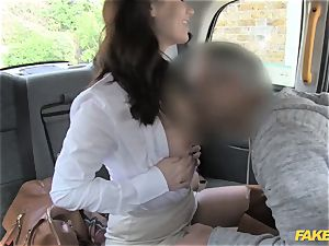 faux taxi steaming minx comes back for tough ass fucking