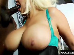 hefty mounds and large butt Bridgette B rough ass fucking hook-up