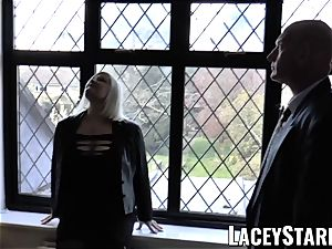 LACEYSTARR - Mature English stunner smashed and facialized