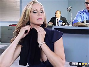 wonderful chief Julia Ann gets a dual creaming
