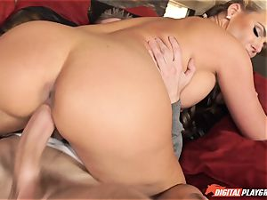 Phoenix Marie anxiously blows the ample fuck-stick of Danny D