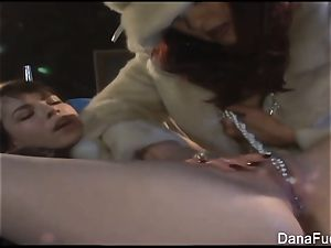 Dana DeArmond gets her fuckbox toyed with