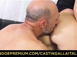 casting ALLA ITALIANA - muddy newcummer buttfuck casting