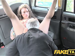 faux cab Backseat thrills for cab drivers