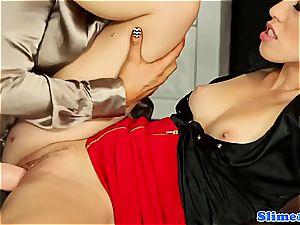 beautiful Jenna adorable and Tiffany girl gets bizarre for mass ejaculation