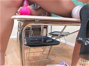 Taylor Vixen and Sophia Jade are insatiable college girls