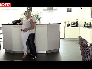 wild stepmom gets banged xxx by her stepson