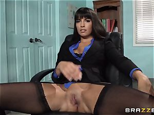 Mercedes Carrera boinks her daughters-in-law bf at work