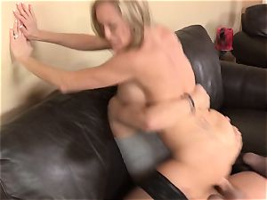 Stepmom Brandi enjoy entices her stepson