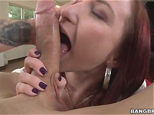 phat rump Sophia Locke loves lollipop inwards her