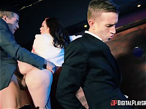 super hot jizm spunking bar drill with sizzling super-naughty babes