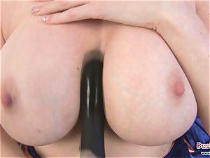 big-boobed Michelle B fuck stick penetrating