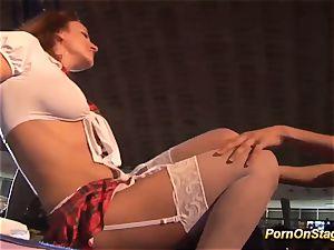 lesbian pornography sex in public
