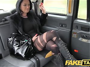 fake taxi Local prostitute pummels cab dude