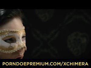 XCHIMERA - Office honey practices voluptuous desire penetrate
