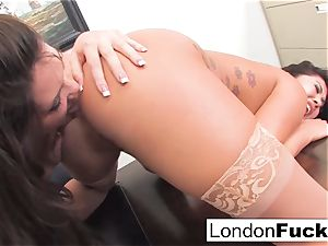 London Keyes And Alison Tyler play