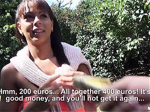 Stranded stunner Isabella Chrystin needs money to get back home