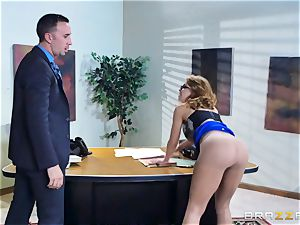 Britney Amber getting banged in her rump and vulva