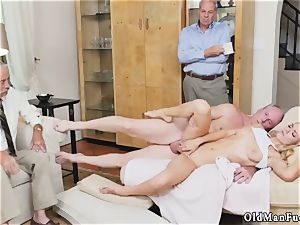 dad care and breakfast handjob older stud Molly Earns Her Keep