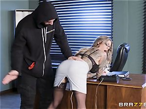Karma Rx takes cooch humped in the office