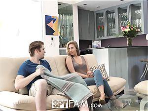 SpyFam Step step-sister Lena Paul boinks step step-brother