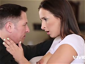 Ashley gets caught all humid and mischievous by her stepdad