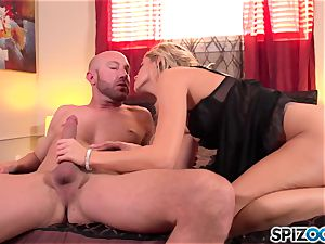 Spizoo - fantastic Jessa Rhodes is plowed by a enormous trouser snake