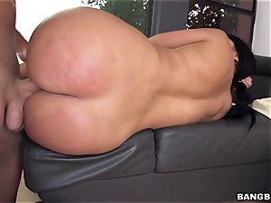 bodacious lady Diamond kitten gets her butt boned