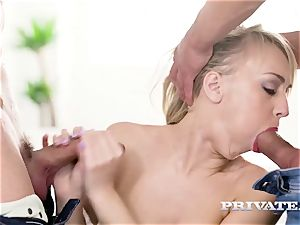 Private.com - Kira Thorn gets her fuck-holes plumbed