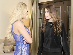 Katie Morgan and Joseline Kelly friction their coochies