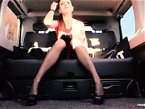 smashed IN TRAFFIC - brit Tina Kay banged in the car
