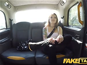 faux taxi puny Kylie Nymphette puss boned