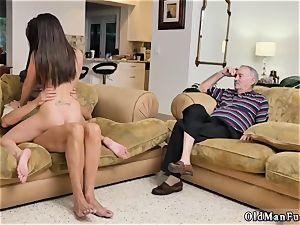 woman on rim job and pierced railing the elder schlong!
