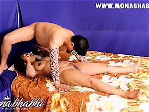 Mona Bhabhi Getting Seduced By Her husband Indian style