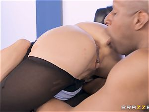 Alexis Fawx pulverized by gigantic big black cock