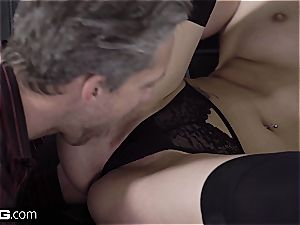 damsel Dee ultimately figured out that one dick is not enough for her