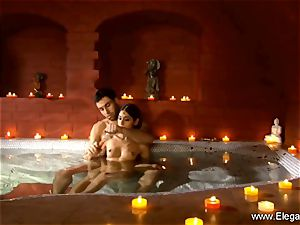 erotic duo In The Indian Sauna