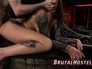 gauze gagged oral job sexually aroused young tourists Felicity Feline and Jade Jantzen are