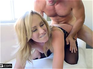 smash hard-core Brett Rossi cougar Deep Dicked By A ginormous stiffy