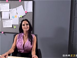 big-boobed educator Ava Addams is smashed by her schoolgirl