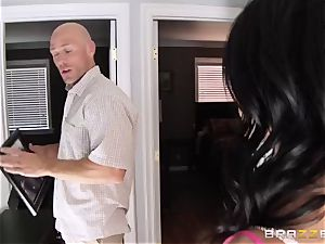 Johnny Sins screws his hottest friend's kinky wifey Breanne Benson