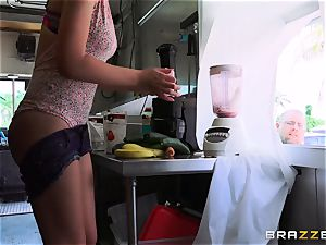 saucy honey Joseline Kelly gets nailed as she obeys