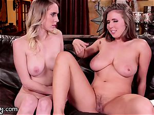 Lena Paul Makes Herself burst girl friend dump More