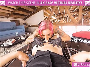 VRBangers.com huge-chested mummy poked rock hard By her Costumer